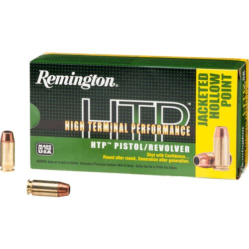 Remington HTP .40 S&W 180-Grain Centerfire Handgun Ammunition