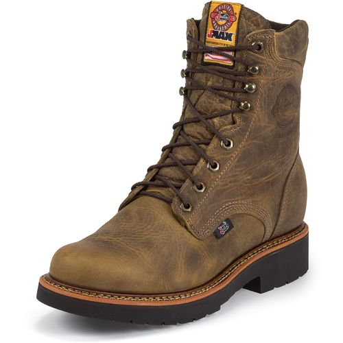 Display product reviews for Justin Men's Rugged Gaucho Steel-Toe Work Boots