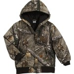Carhartt Boys' Camo Active Jacket
