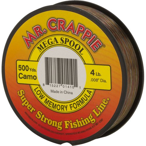 Display product reviews for Mr. Crappie® Mega Spool 500 yards Monofilament Filler Spool