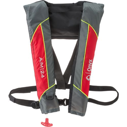 Display product reviews for Onyx Outdoor A/M 24 Automatic Manual Inflatable Life Jacket