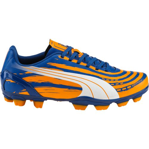 PUMA Juniors  evoSPEED 5.2 Graphic FG Soccer Cleats