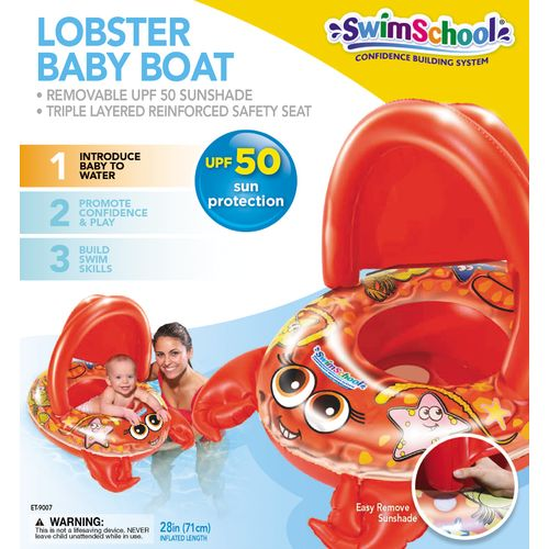 Aqua-Leisure Toddlers' Lobster and Turtle Character Baby Boat - view number 2