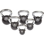 Body-Solid Tools Premium 5 - 30 lb. Kettlebell Set