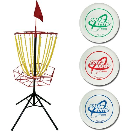 Display product reviews for Triumph Sports USA Disc Golf Toss Set