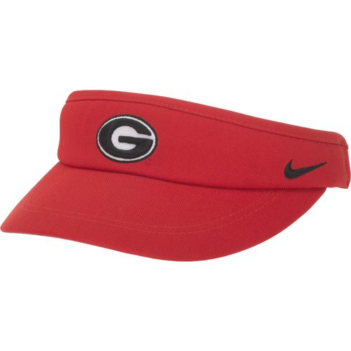 Nike™ Men's University of Georgia Sideline Dri-FIT Visor