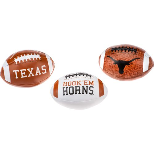 Rawlings University of Texas 3rd Down Softee Footballs 3-Pack - view number 1