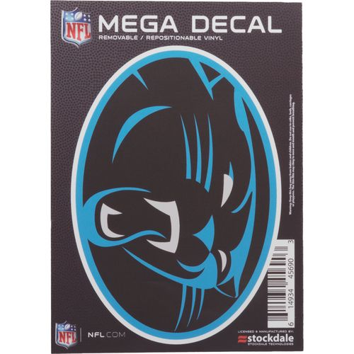 "Stockdale Carolina Panthers 5"" x 7"" Repositionable Decal"