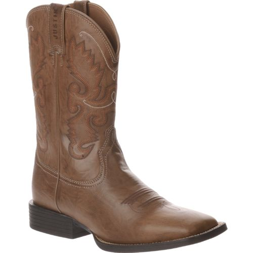 Justin Men's Wood Burnish Farm and Ranch Boots - view number 2