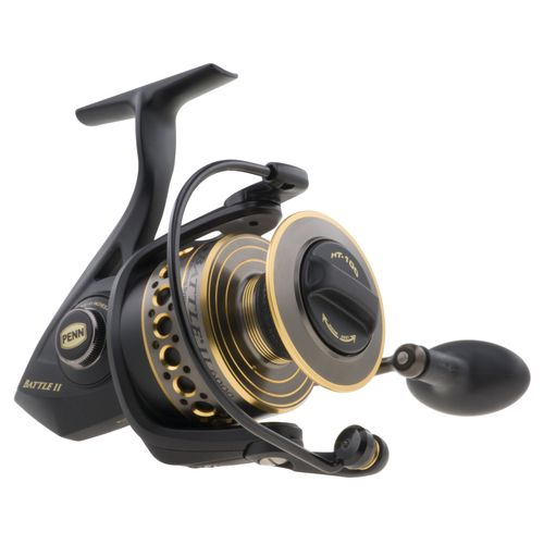 Display product reviews for PENN Battle II 2500 Spinning Reel Convertible