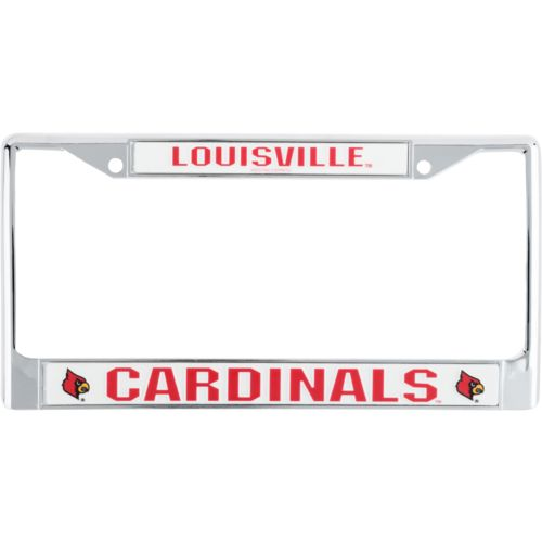 Rico University of Louisville Chrome Auto Frame