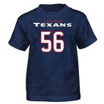NFL Boys' Houston Texans Brian Cushing #56 Mainliner T-shirt