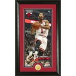 The Highland Mint Chicago Bulls Derrick Rose #1 Panoramic Photo Mint with Coin