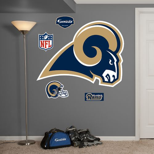 Fathead St. Louis Rams Logo and Team Decals 5-Pack