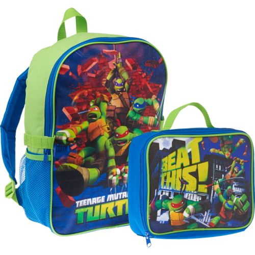 Nickelodeon Boys' Teenage Mutant Ninja Turtles Backpack with