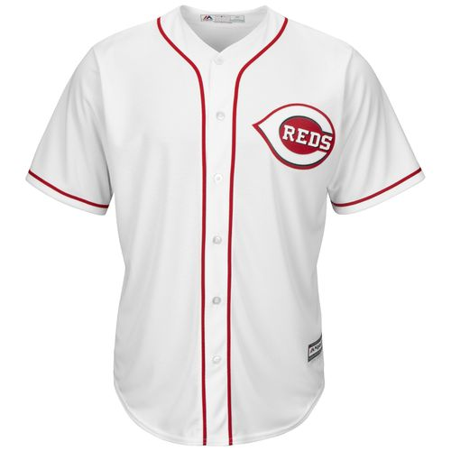 Cheap Majestic Men's Cincinnati Reds Cool Base Replica Jersey