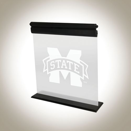 AES Optics Mississippi State University Acrylic LED Light