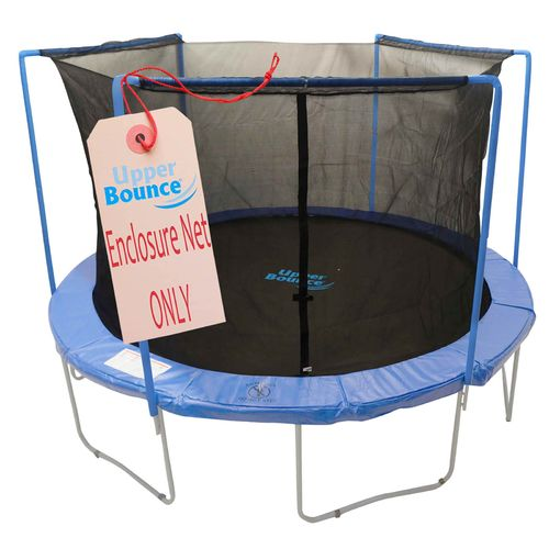 Upper Bounce® 14' Replacement Enclosure Safety Net with Sleeves on Top for 3-Arch Trampolin