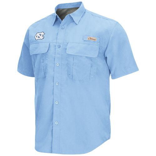 Chiliwear Men's University of North Carolina Swivel Short Sleeve Fishing Shirt