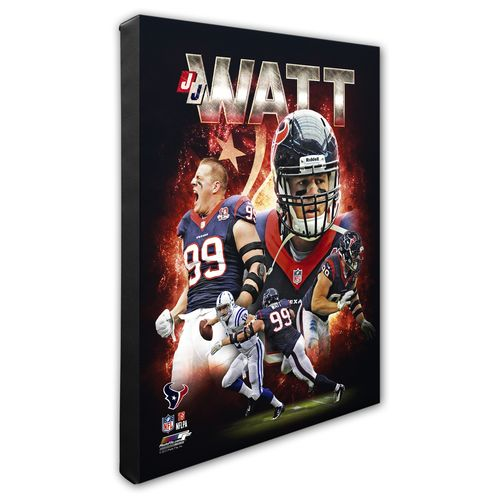 Photo File Houston Texans J.J. Watt Portrait Plus 8' x 10' Photo