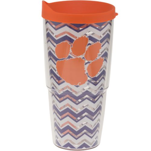 Tervis Clemson University Chevron 24 oz. Tumbler with Lid