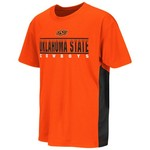 Colosseum Athletics Kids' Oklahoma State University Poly Short Sleeve T-shirt