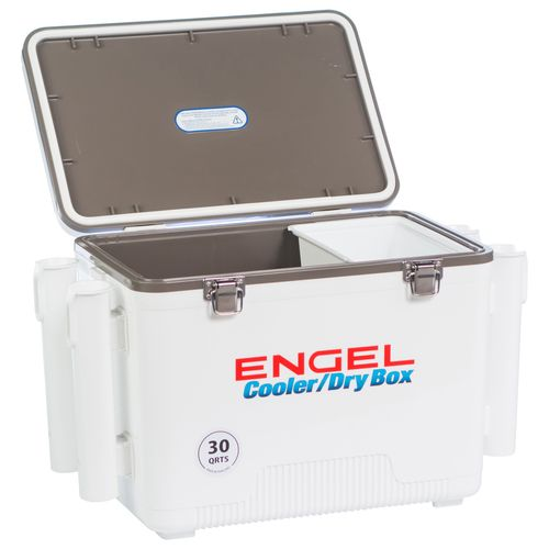 Engel 30 qt Cooler/Dry Box with Rod Holders - view number 9