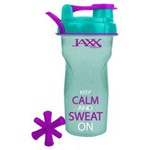 Fit & Fresh Jaxx Inspirational 28 oz. Glitter Shaker Bottle