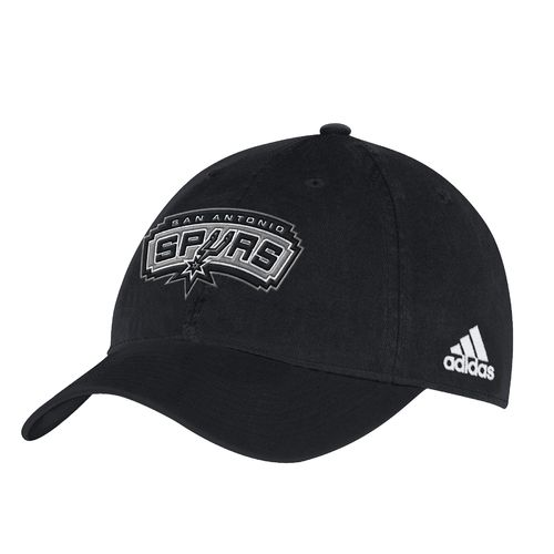 adidas™ Men's San Antonio Spurs Slouch Adjustable Cap
