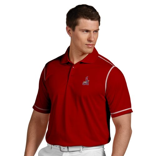 Antigua Men's St. Louis Cardinals Icon Polo Shirt - view number 1