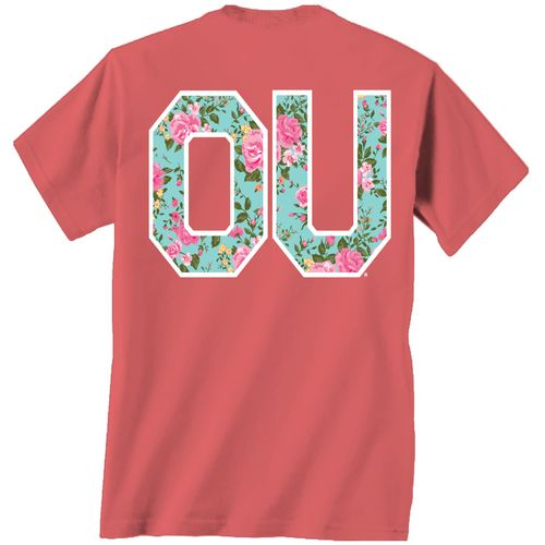 Display product reviews for New World Graphics Women's University of Oklahoma Floral T-shirt
