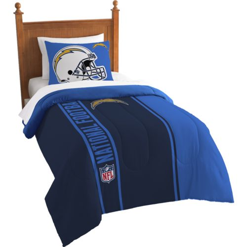 The Northwest Company San Diego Chargers Twin Comforter and Sham Set