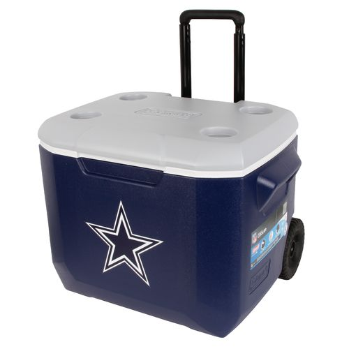 Colemanu00ae Dallas Cowboys 60 qt. Performance Wheeled Cooler : Academy