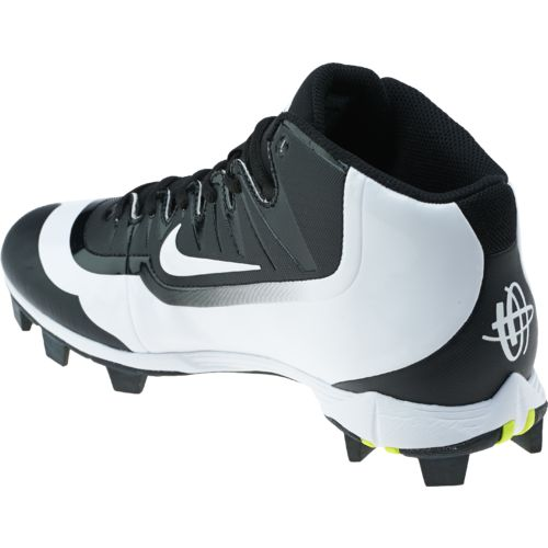 Nike Men's Huarache 2KFilth Keystone Mid Baseball Cleats - view number 3
