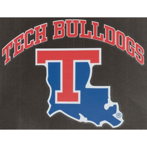 "Stockdale Louisiana Tech 8"" x 8"" Vinyl Die-Cut"