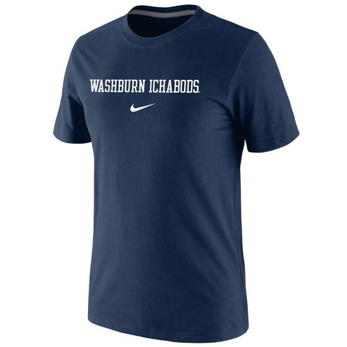 Nike™ Men's Washburn University Cotton Short Sleeve T-shirt