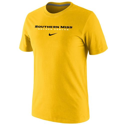 Nike™ Men's University of Southern Mississippi Cotton Short Sleeve T-shirt