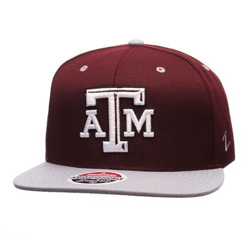 Zephyr Adults' Texas A&M University Z11 Core Snapback Hat