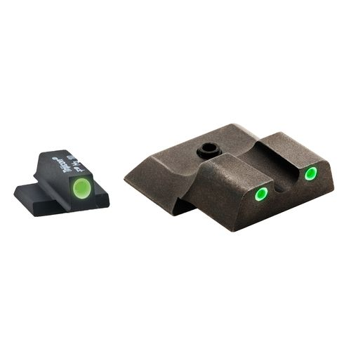 AmeriGlo S&W/M&P Shield 3-Dot Tritium Front and Rear Sight Set