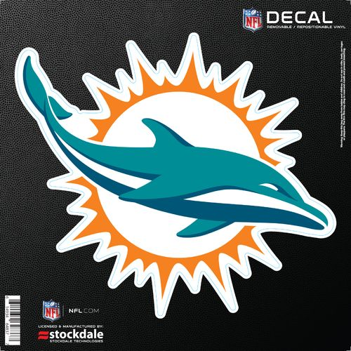 Stockdale Miami Dolphins 6' x 6' Decal