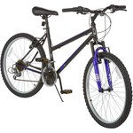 "Magna Girls' Silver Canyon 24"" 18-Speed Bicycle"