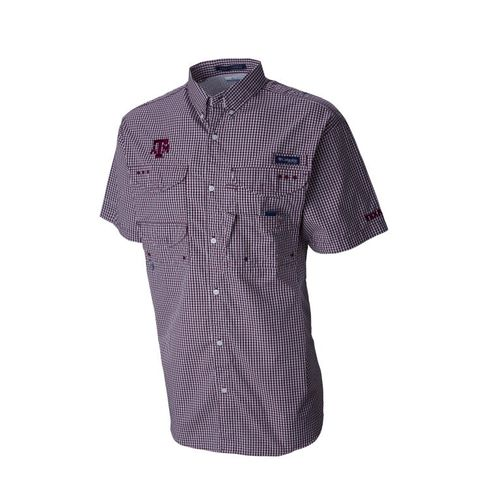 Columbia Sportswear Men's Texas A&M University Collegiate Super Bonehead™ Shirt