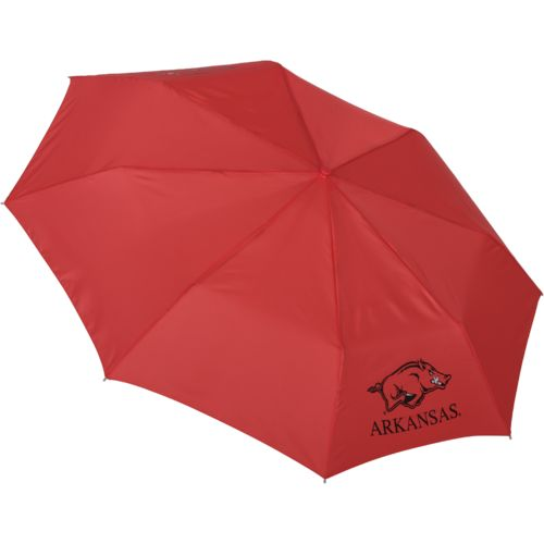 "Storm Duds University of Arkansas 42"" Super Pocket Mini Folding Umbrella"