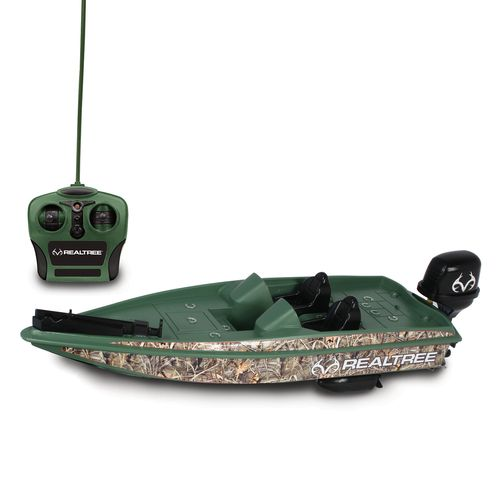 NKOK Realtree Full-Function Radio Controlled Bass Boat