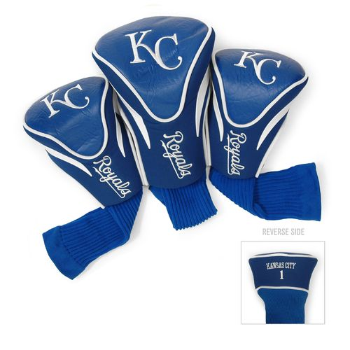 Team Golf Kansas City Royals Contour Sock Head Covers 3-Pack