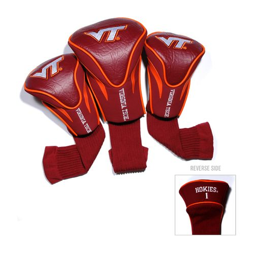 Team Golf Virginia Tech Contour Sock Head Covers 3-Pack