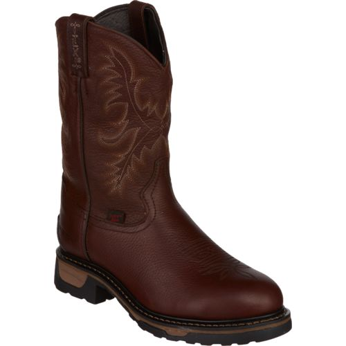 Tony Lama Men's Briar Pitstops TLX Waterproof Steel-Toe Western Work Boots - view number 2