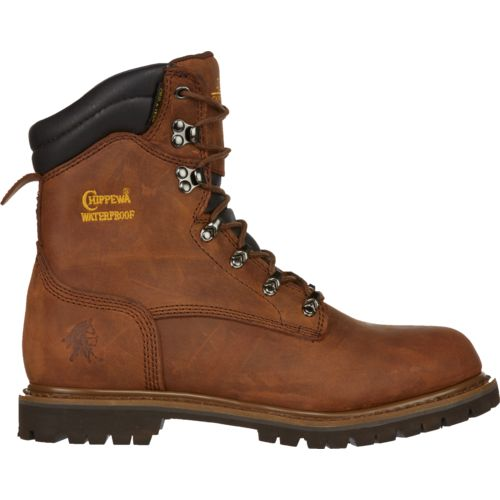 Chippewa Boots Men's Heavy Duty Tough Bark Utility Rugged Outdoor Boots