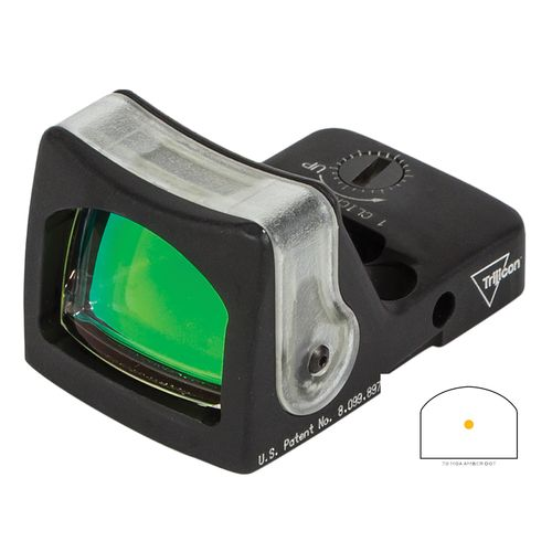 Trijicon RMR Dual-Illuminated Amber Dot Sight - view number 1