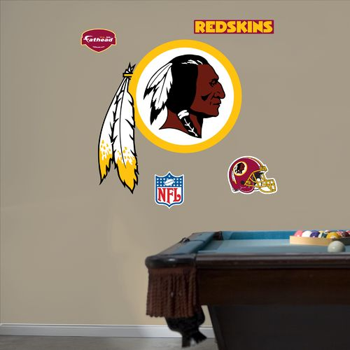 Fathead Washington Redskins Real Big Team Logo Decal